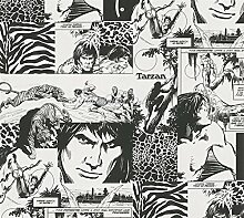 Tapete Kinderzimmer Tarzan und Jane