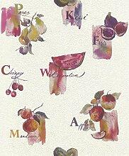 Tapete Küche Rasch Früchte Obst Küchentapete