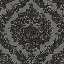 Tapete LABYRINTH Crash Design Vliestapete 03926-30 grau schwarz