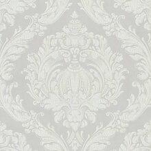Tapete LABYRINTH Crash Design Vliestapete 03926-70 creme weiß