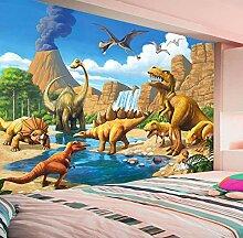 Tapete Lakefront Dinosaur Tyrannosaurus