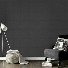 Tapete Leder 10 m x 52 cm East Urban Home Farbe: