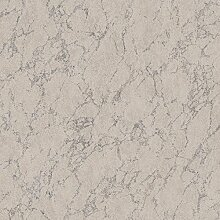 Tapete Marmor grau mit Maserung grau blau. Utah