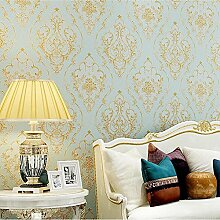Tapete Marokkanischen Stil Europäischen Wohnzimmer Schlafzimmer Studie Tapete Vlies tapete , light green