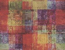 Tapete Mehrfarbig Rot, Orange, Blau, Grün, Lila und andere für moderne Räume, Flow 82905