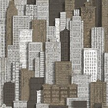 Tapete mit Teppiche von Wolkenkratzer Friends &