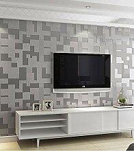 Tapete Moderne 3D-Mosaik-Tapete Schlafzimmer