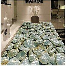 Tapete Moderne 3D Pebbles Wasser Wellen