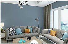Tapete Moderne Minimalistische Blaue Einfarbige