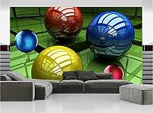 Tapete Nach Maß Mode Farbe 3d Stereoscopic Space
