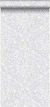 Tapete Ornamente Hellgrau - 347305 - von Origin -
