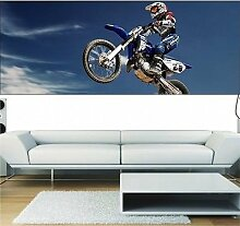 Tapete Panorama Moto Cross 3697, 220x86cm