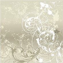 Tapete Perlmutt Ornament Design 192 cm L x 192 cm