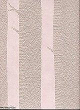 Tapete Pink mit Baumstämme-Bäume minimalistischen Cartoon Relief Vinyl Montana Maa 80524101
