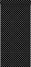 Tapete Punkte Schwarz und Weiß - 138501 - von