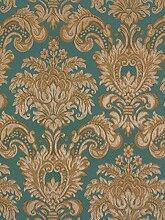 Tapete Rasch Textil Barock blau gold Tradizionale 8035