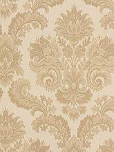 Tapete Rasch Textil Barock Floral creme beige Tradizionale 8042