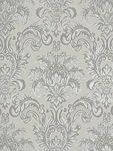 Tapete Rasch Textil Barock grau beige Tradizionale 8031