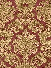 Tapete Rasch Textil Barock rot gold Tradizionale 8038
