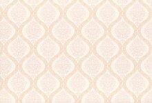 Tapete Rasch Textil Ornamente weiß orange Vintage Diary 255255