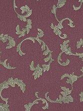 Tapete Rasch Textil Ranken lila violett Tradizionale 8014