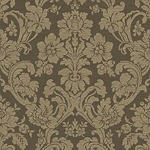 Tapete Rasch Textil Savile Row Barock Floral braun