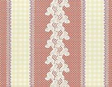 Tapete Rasch Textil Streifen rot creme lila Vintage Diary 255026