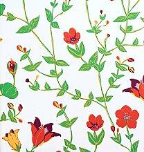 Tapete Rasch Vintage Chic Vliestapete 321509 Floral grün orange