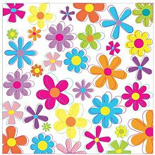 Tapete Retro Blumen 2.88m x 288cm East Urban Home