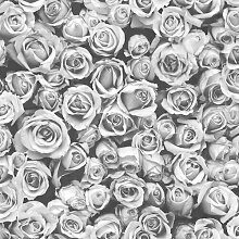 Tapete Rosalee 10 m x 53 cm Muriva Farbe: Grau