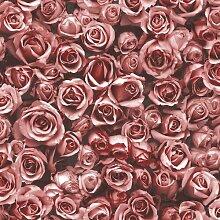 Tapete Rosalee 10 m x 53 cm Muriva Farbe: Rot