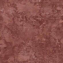 Tapete Rot Bordeaux Sandstrahloptik A Relief
