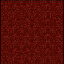 Tapete Roter Französischer Barock 1.9m L x 288cm