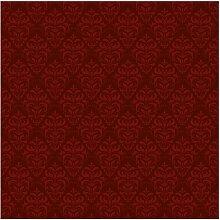 Tapete Roter Französischer Barock 192 cm L x 192