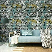 Tapete Schlafzimmer, 3D Dreidimensionale Imitation