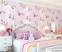 Tapete Schlafzimmer Tapete Mädchen Zimmer Cartoon