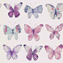 Tapete Schmetterlinge lila, 53cm x 10,05m