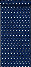 Tapete Sterne Marineblau - 114944 - von ESTAhome.nl