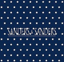 Tapete Sterne Marineblau - 935225 - von Sanders &