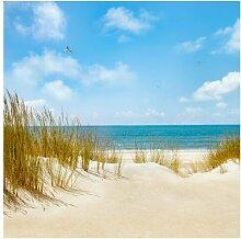 Tapete Strand an der Nordsee 288 cm L x 288 cm B