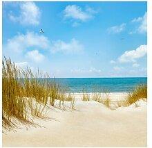 Tapete Strand an der Nordsee 336 cm L x 336 cm B
