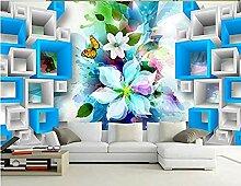 Tapete Tapete Mode Fantasie Blume 3D Wandbilder