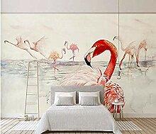 Tapete Tapete Red Flamingo Wandbilder Für TV