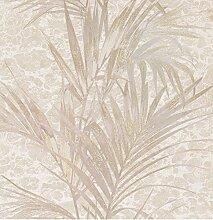 Tapete Trussardi Wall Decor 2Druck natur mit Glitter A Relief Elfenbein Taupe Gold in Vinyl waschbar Italian Wallpaper Cod Z5571