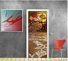 Tapete Tür Tag Graffiti 702, 93x204cm