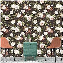 Tapete, Vintage-Design, mit Blumenmuster, zum