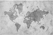 Tapete Vintage Weltkarte II 2.55m x 384cm