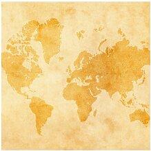 Tapete Vintage World Map