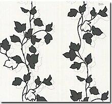 Tapete Vlies floral Ranken Blumen Design