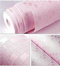 Tapete Vlies Mosaik Beflockung Relief Pink Effekte